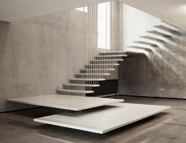 escadas de marmore